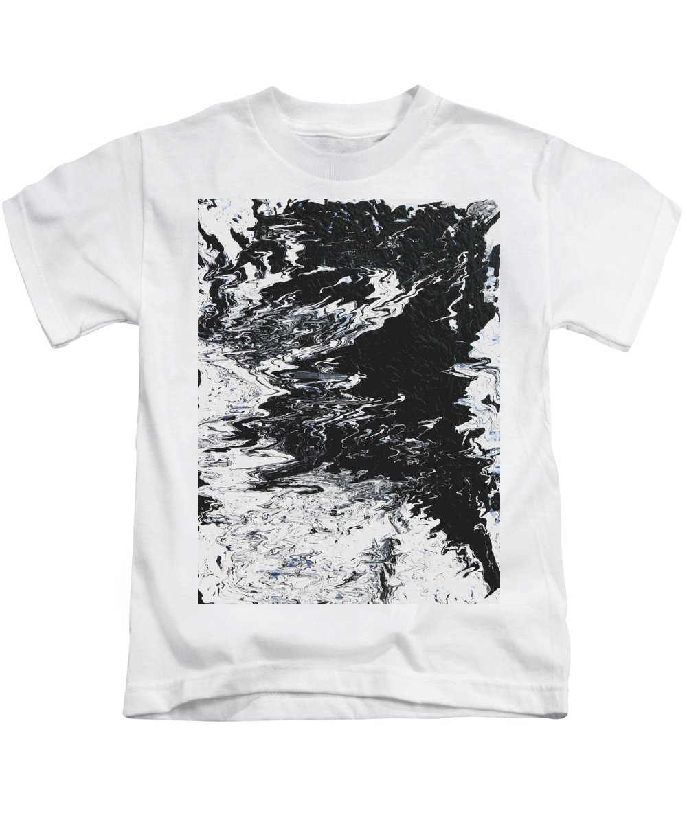 Fusionart Kids T-Shirt featuring the painting Victory by Ralph White