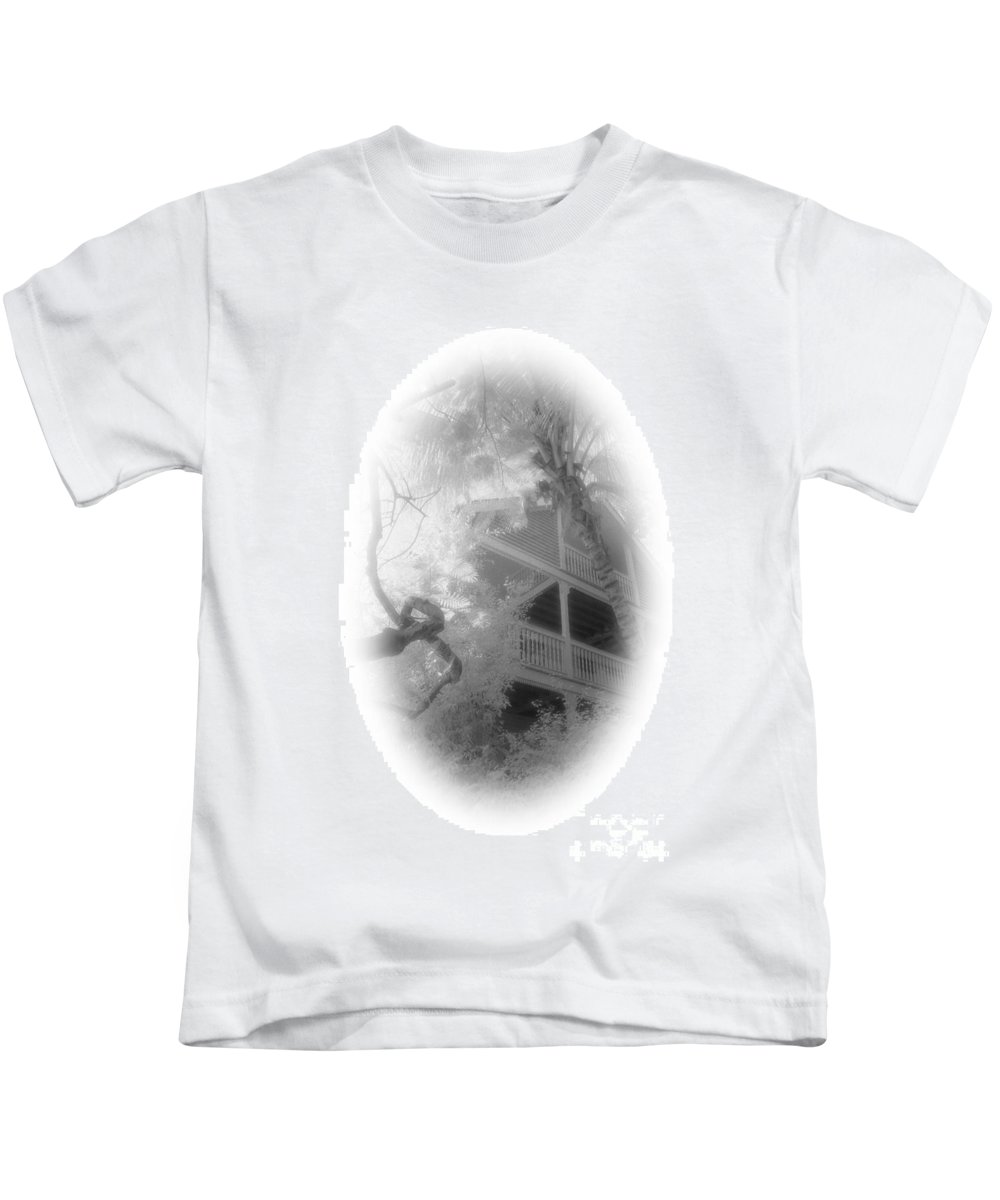 Balcony Kids T-Shirt featuring the photograph View Of The Balcony by Richard Rizzo