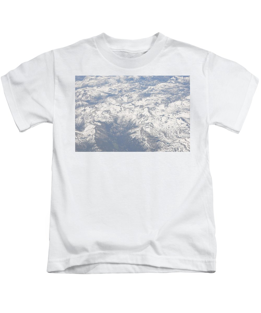 View Kids T-Shirt featuring the photograph Views From The Sky by Terry Anderson