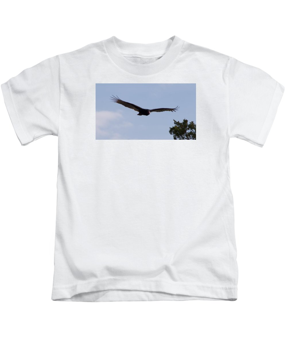Vulture Kids T-Shirt featuring the photograph Vulture by Toni Berry