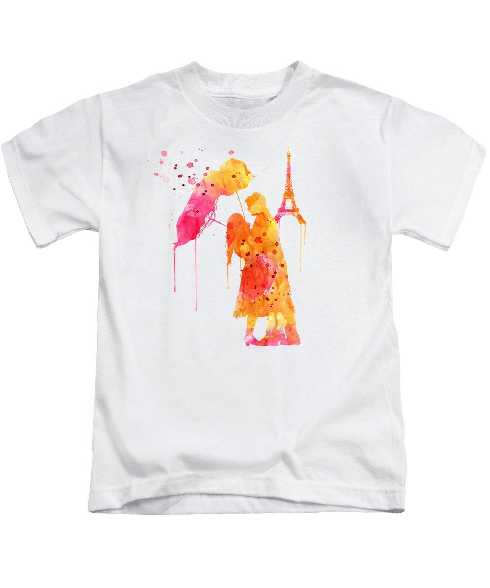 Romantic Couple Kids T-Shirts