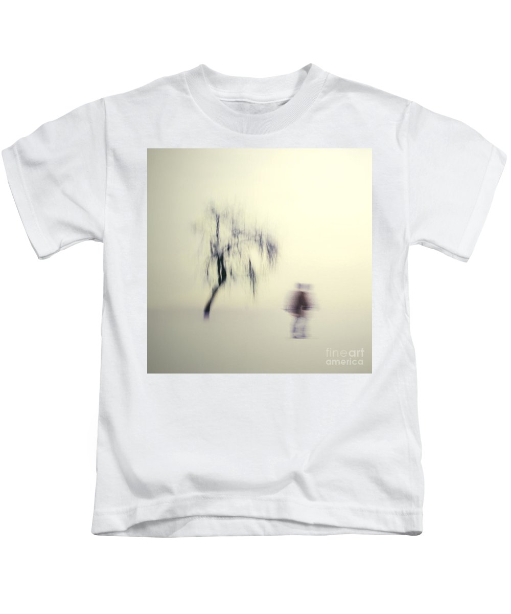 Blur Kids T-Shirt featuring the photograph What Is The Way To The Light by Dana DiPasquale