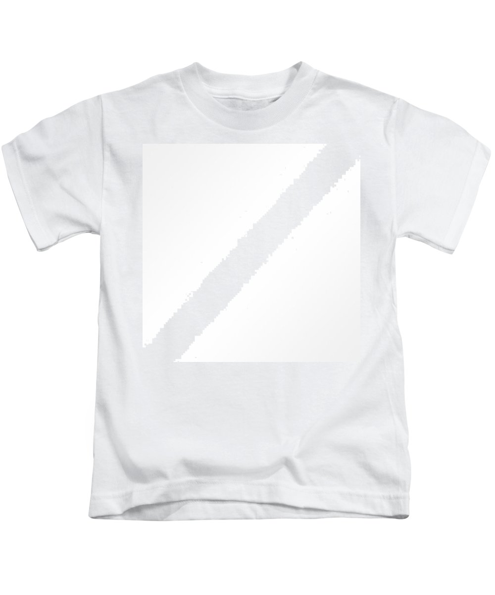 Kids T-Shirt featuring the digital art White by Madria Craig