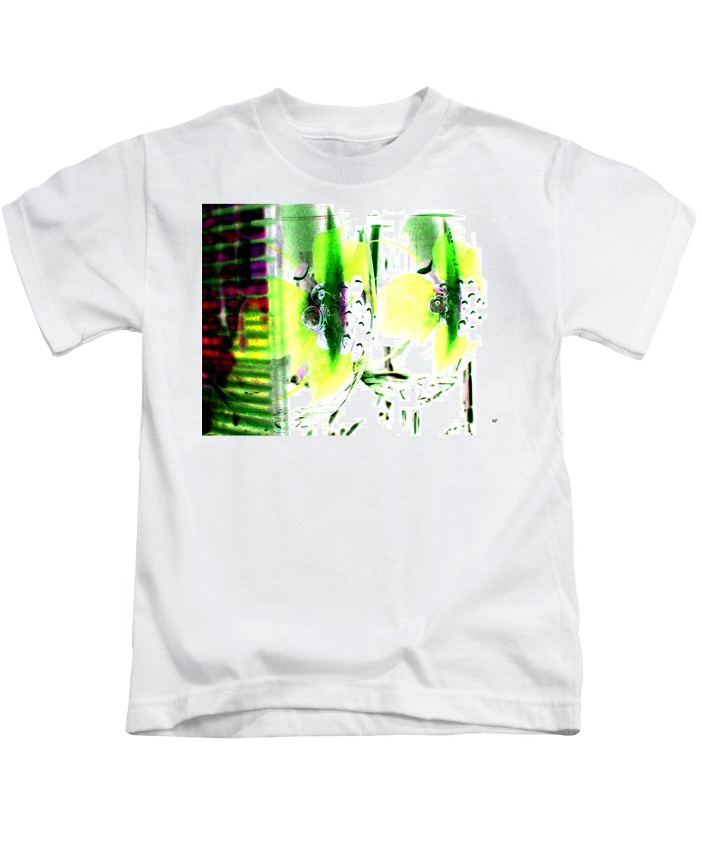 Photo Design Kids T-Shirt featuring the digital art Wine Country Ambiance by Will Borden