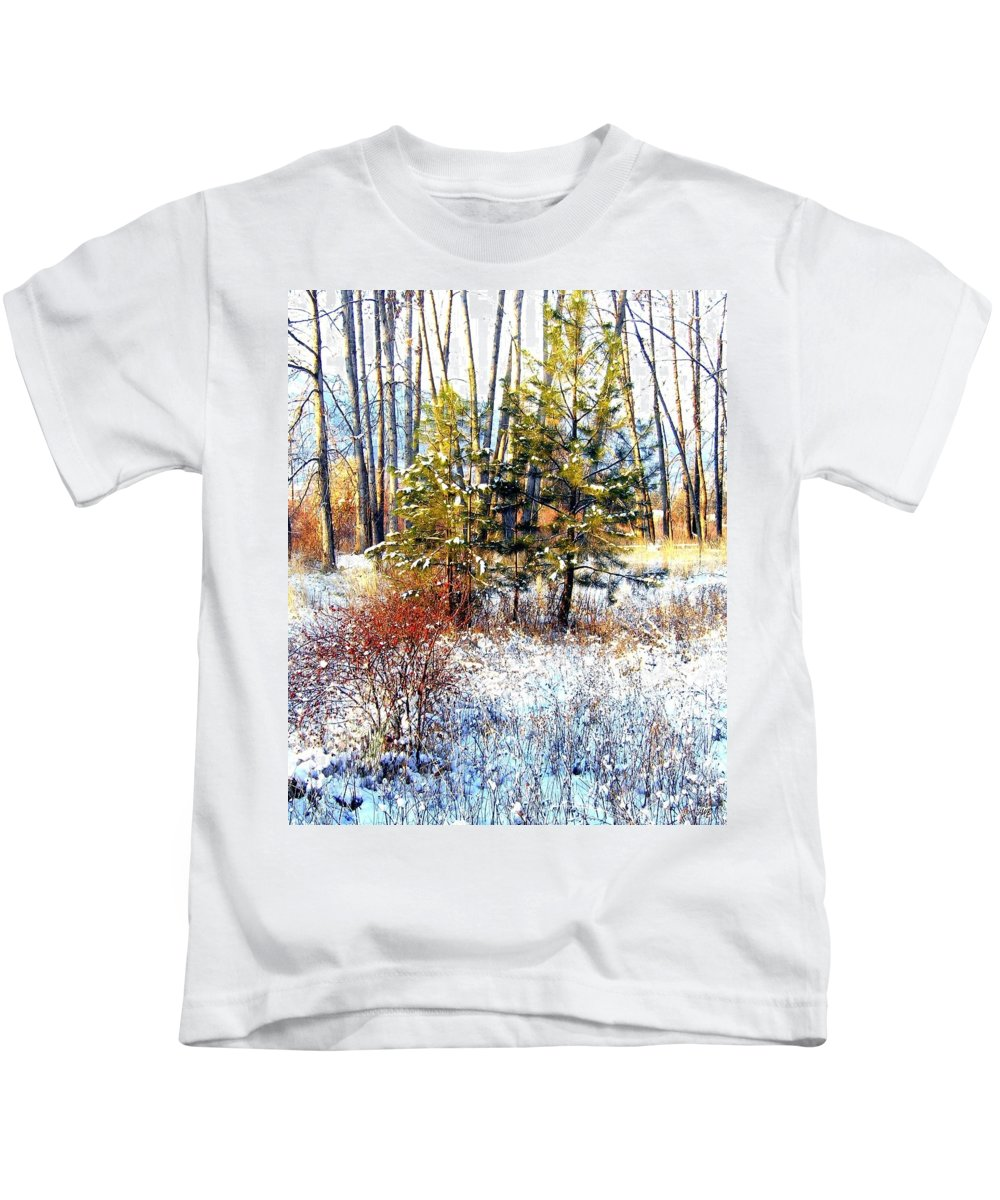Winter Kids T-Shirt featuring the photograph Winter Calm by Will Borden