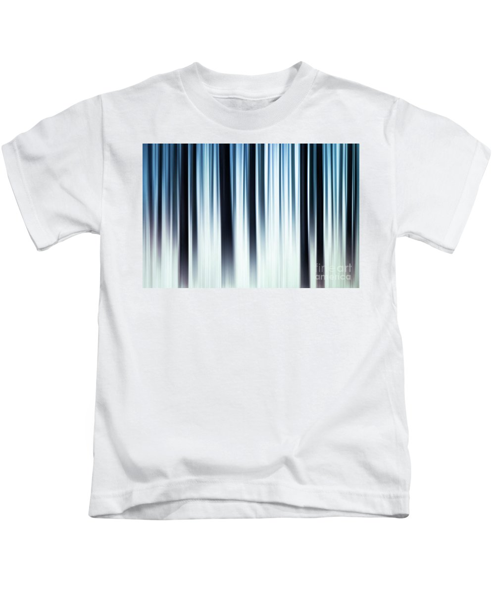 Hereward The Wake Kids T-Shirt featuring the digital art Winter In The Forest by John Edwards