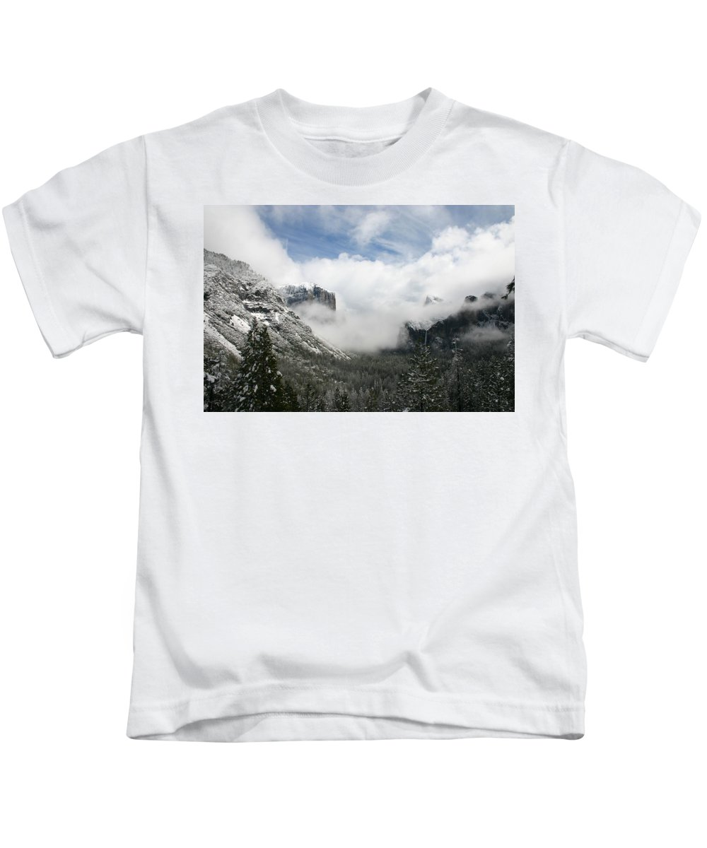 Landscape Kids T-Shirt featuring the photograph Winter Inspiration by Travis Day