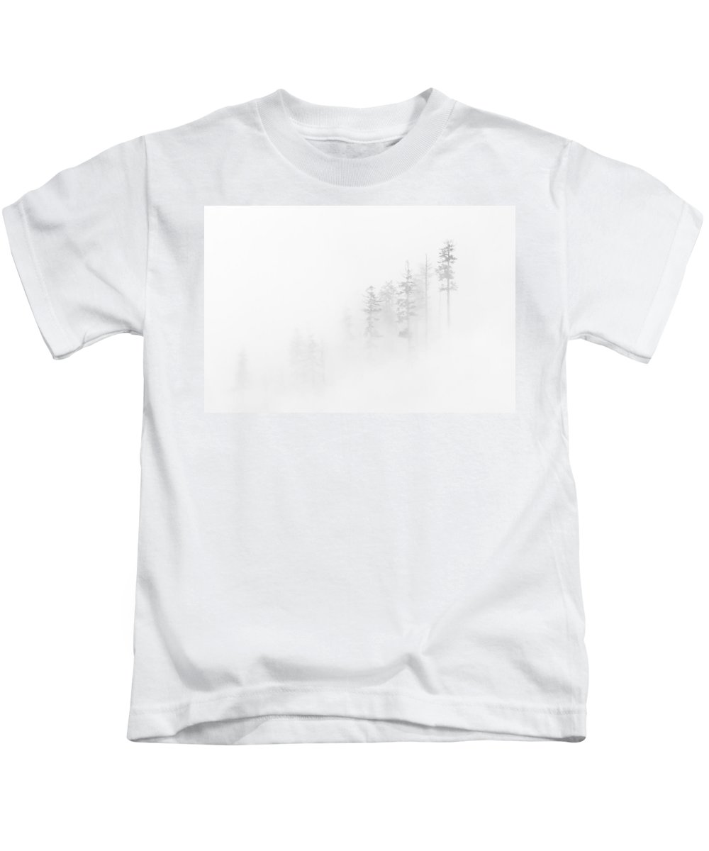 Winter Kids T-Shirt featuring the photograph Winter Veil by Mike Dawson