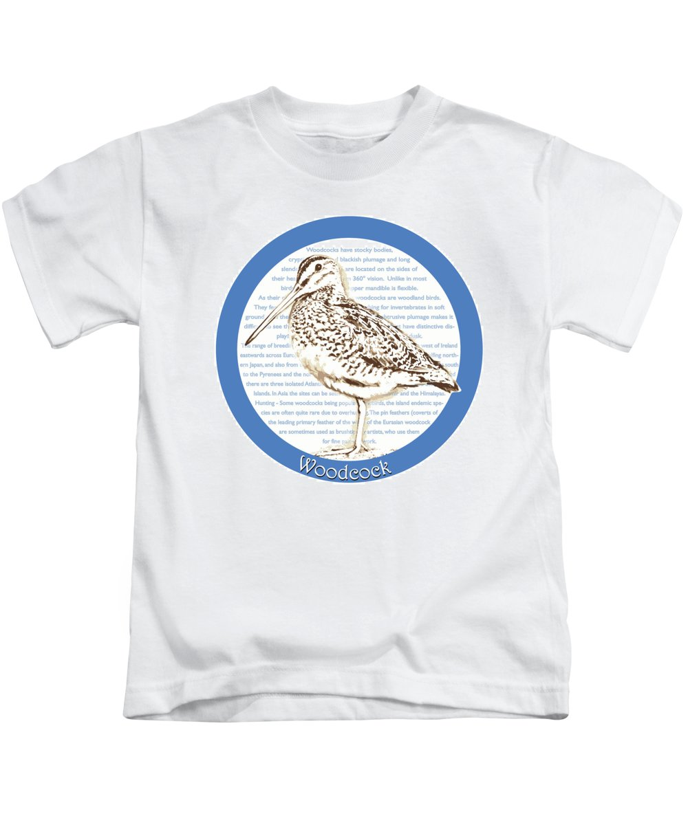 Woodcock Kids T-Shirts