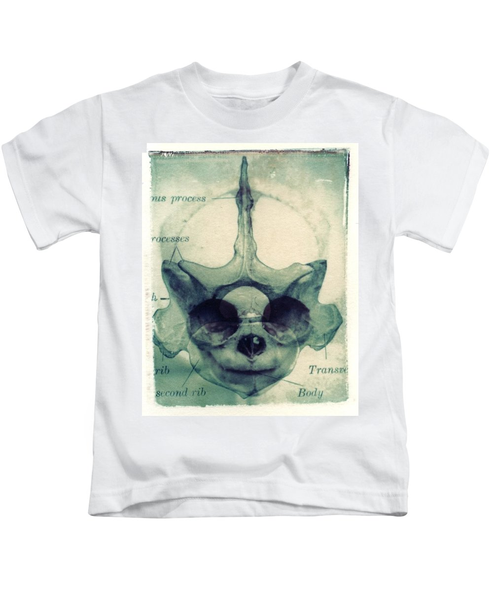 Polaroid Transfer Kids T-Shirt featuring the photograph X Ray Terrestrial No. 13 by Jane Linders