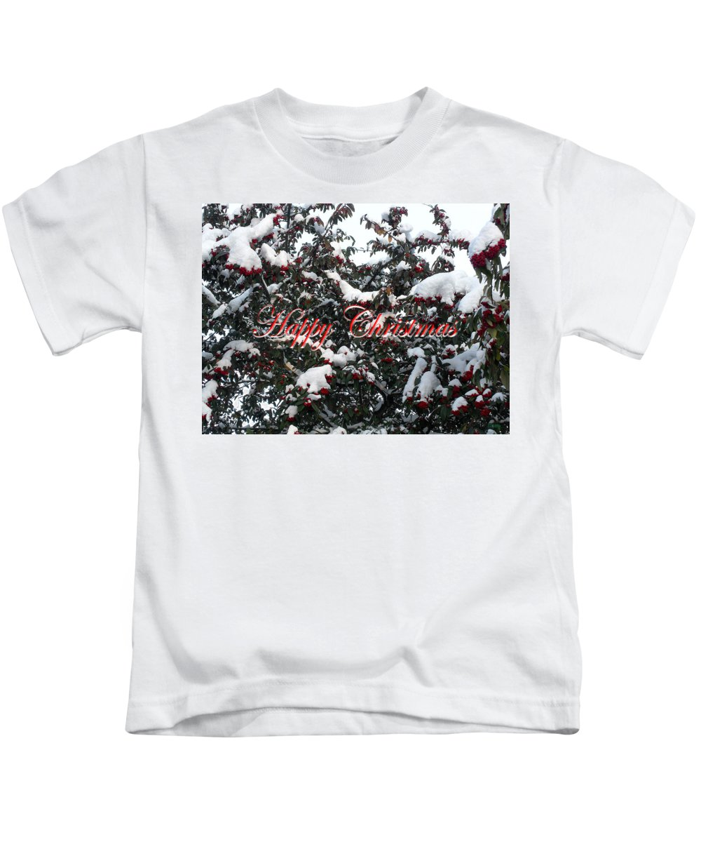 Christmas Kids T-Shirt featuring the photograph Happy Christmas 12 by Patrick J Murphy