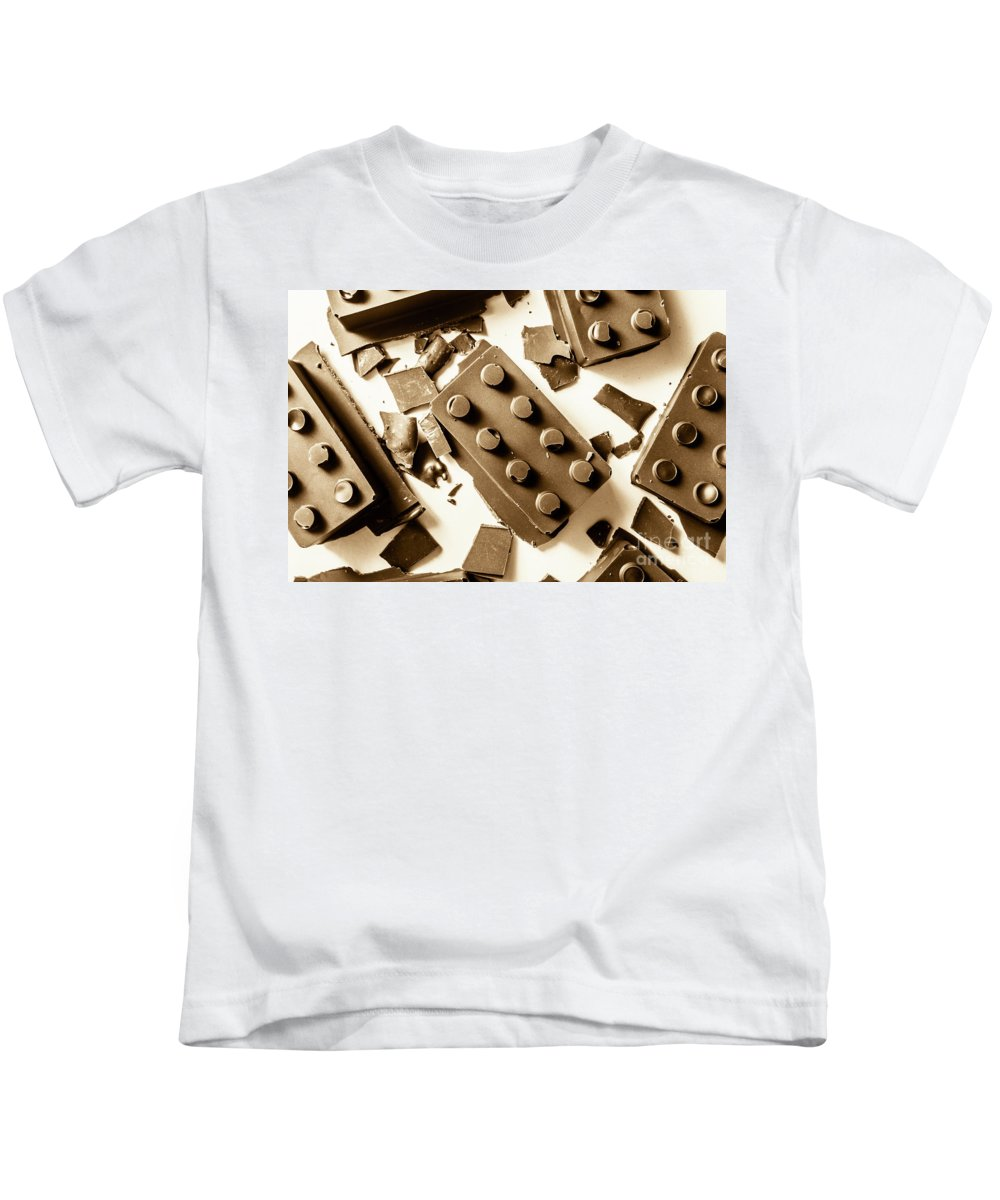 Dessert Kids T-Shirt featuring the photograph Compound Chocolate by Jorgo Photography - Wall Art Gallery