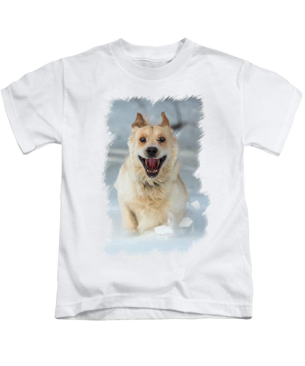 Crazy Kids T-Shirt featuring the photograph Crazy Dog Transparancy by Chris Whiton