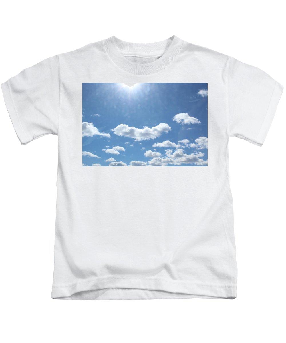 Sunlight Kids T-Shirt featuring the photograph Daylight Savings by Brittany Galipeau