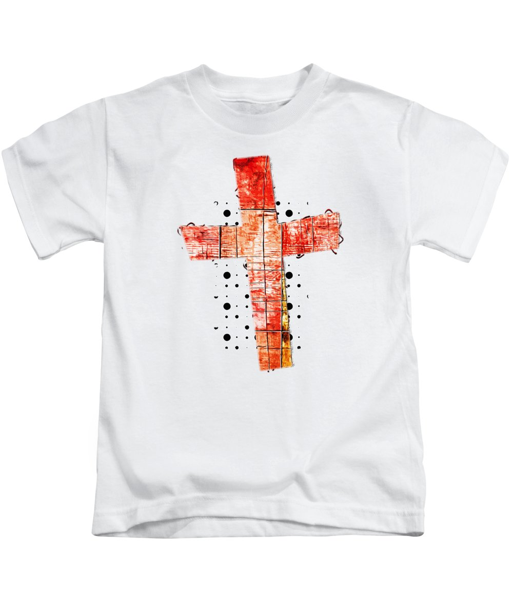 Jesus Kids T-Shirt featuring the digital art Destiny by Payet Emmanuel