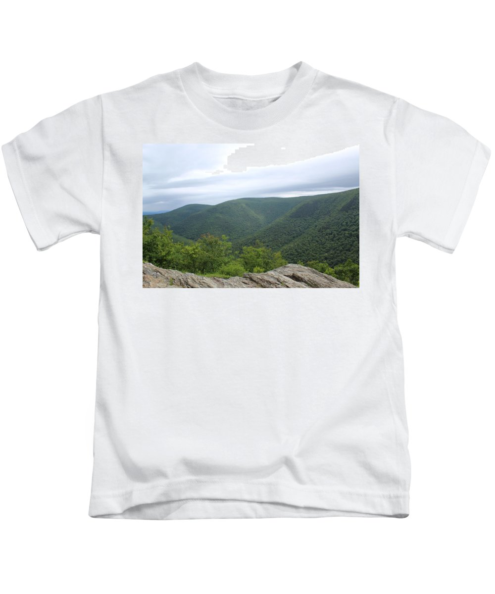 Berkshires Kids T-Shirt featuring the photograph Rolling Mountains by Brittany Galipeau