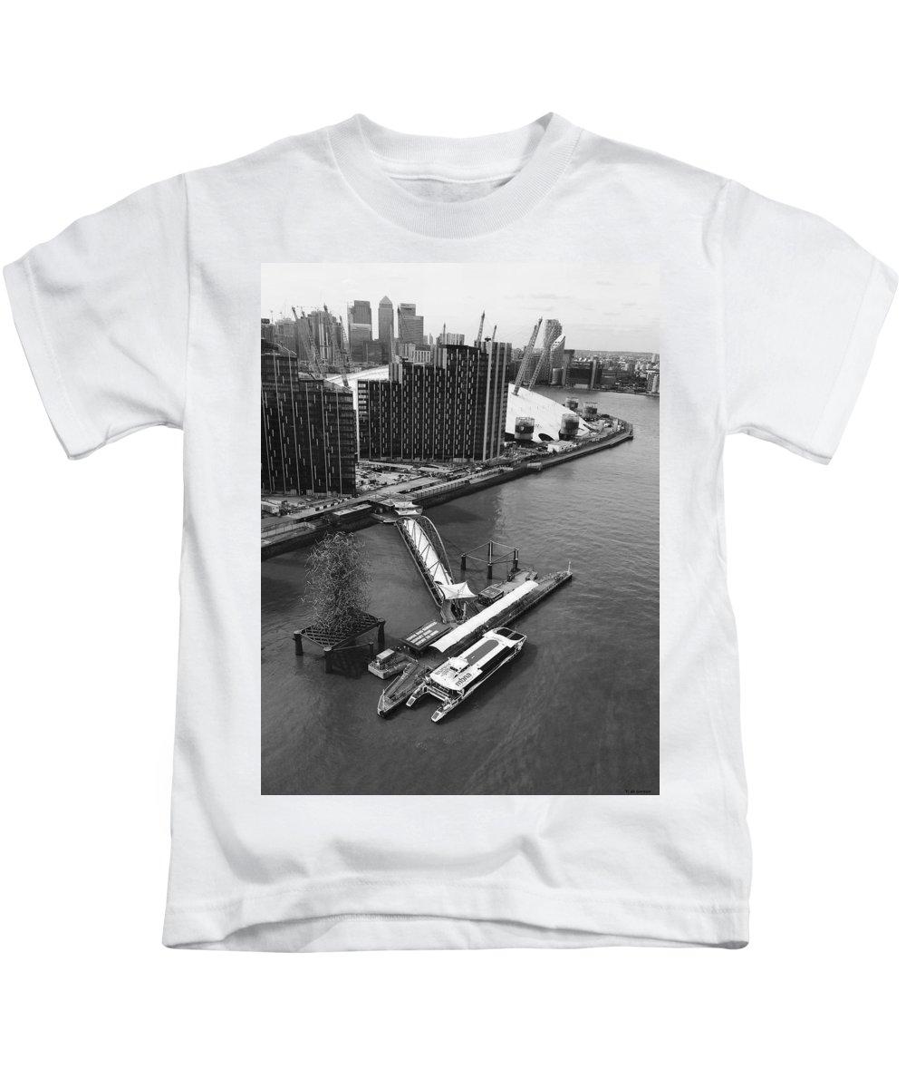 Kids T-Shirt featuring the photograph The Dock by Vera De Gernier