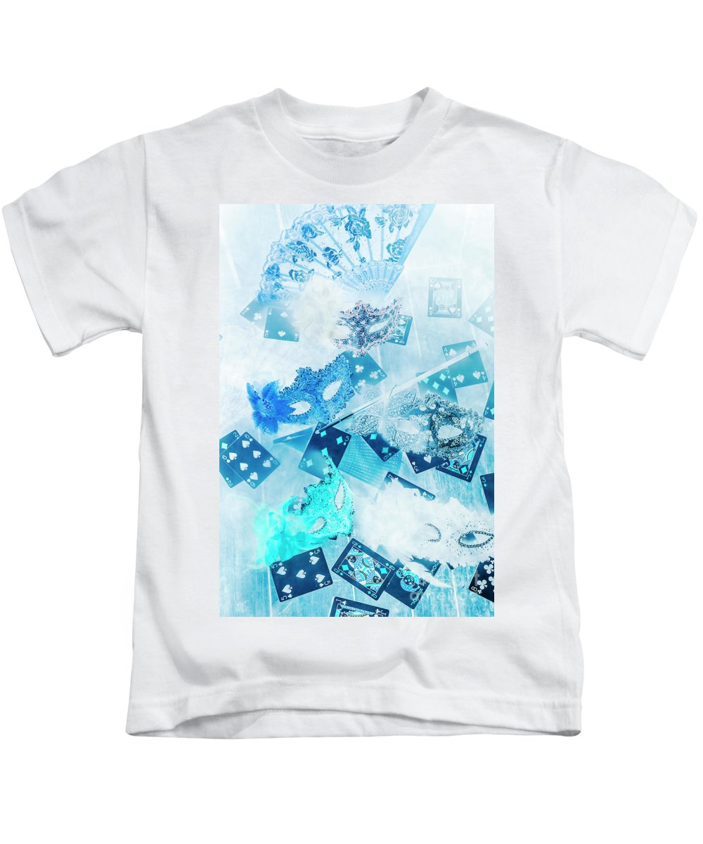 Carnival Kids T-Shirt featuring the photograph The Illusion Gala by Jorgo Photography - Wall Art Gallery