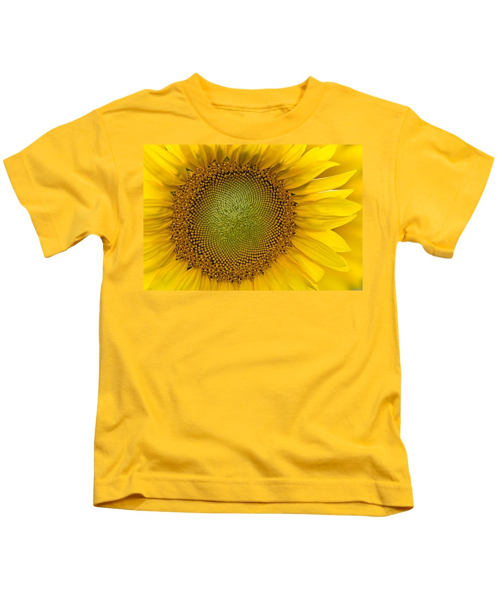 Close Up Kids T-Shirt featuring the photograph I Got Sunshine by Susan Candelario