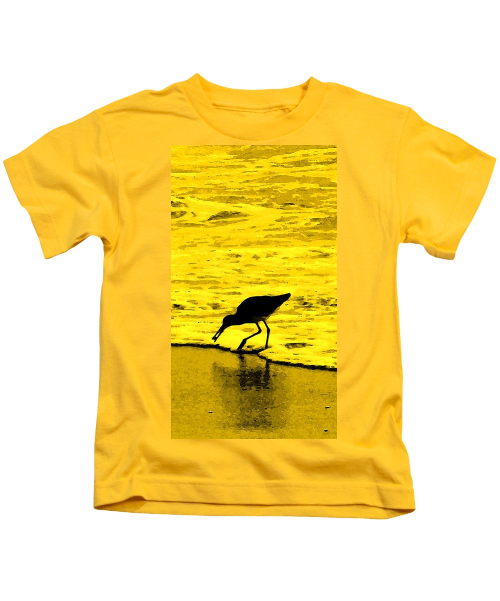 Florida Kids T-Shirt featuring the photograph This Beach Belongs To Me by Ian MacDonald