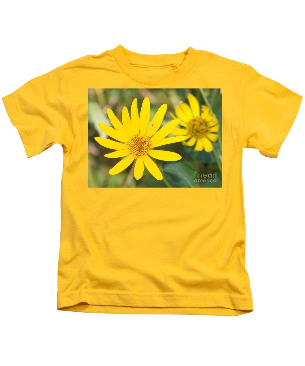 Wildflower Kids T-Shirt featuring the photograph Wildflower by Lori Tordsen