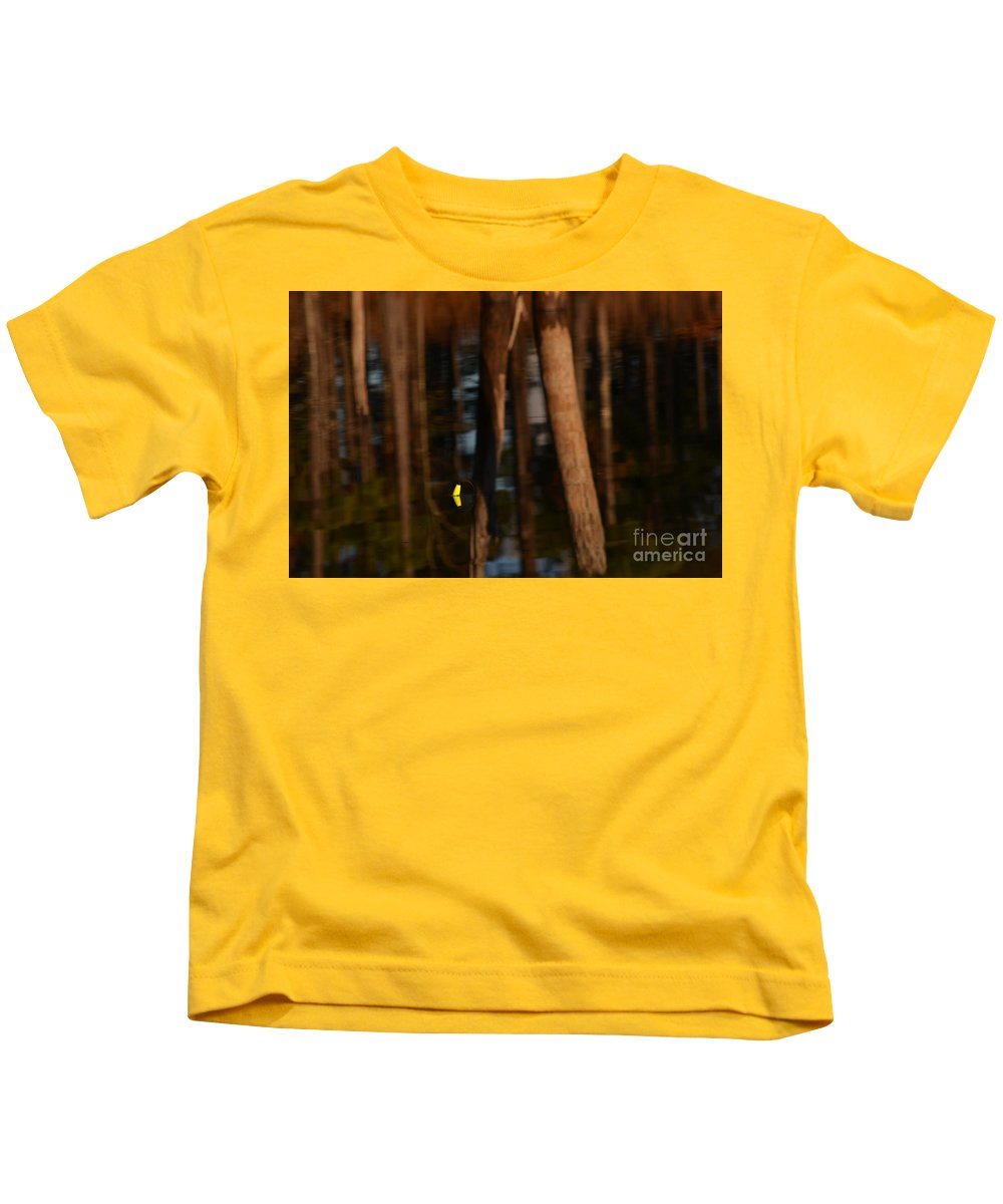 Reflection Kids T-Shirt featuring the photograph Reflection by Donna Brown