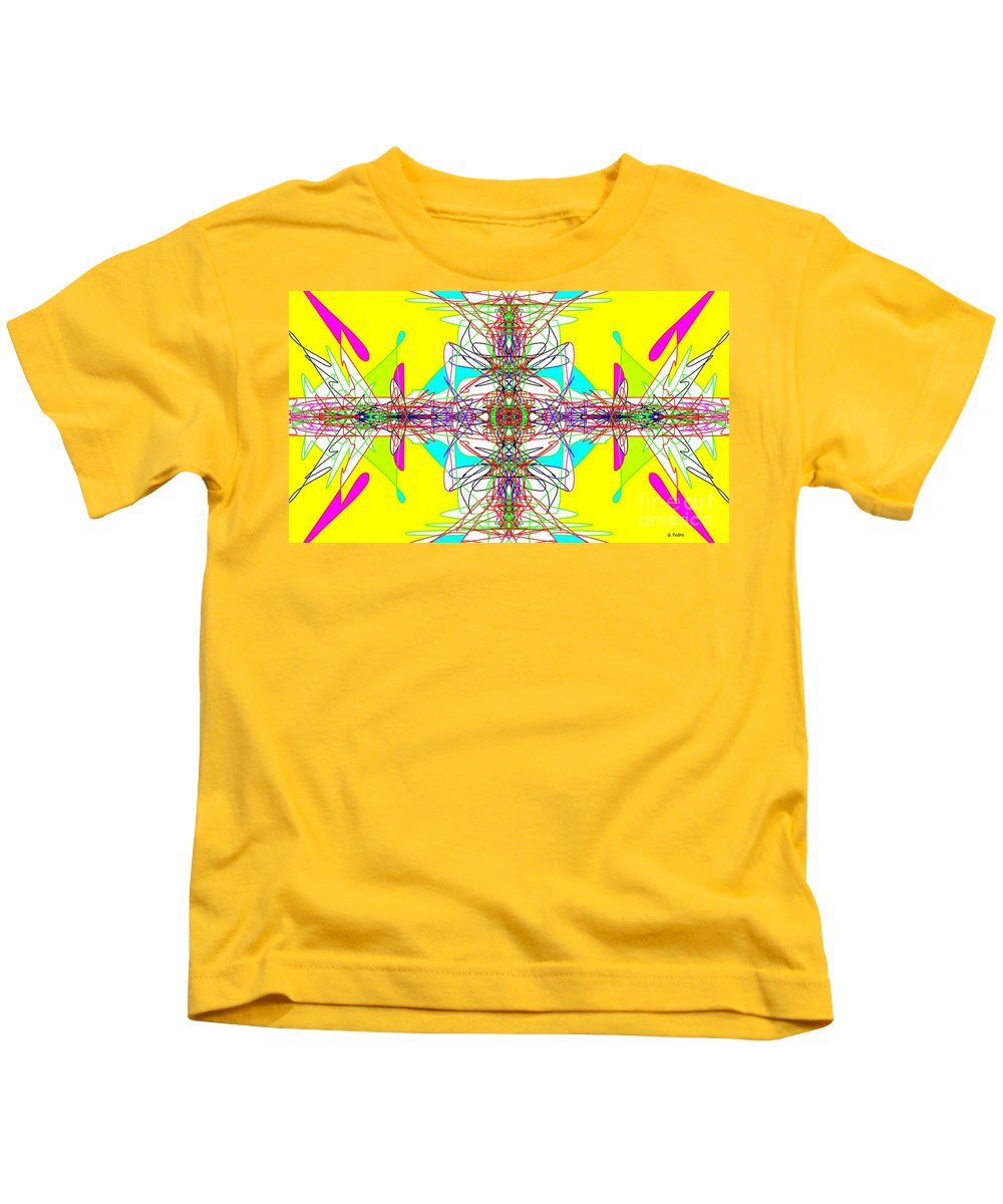 Fractal Kids T-Shirt featuring the digital art Executive Decision by George Pedro