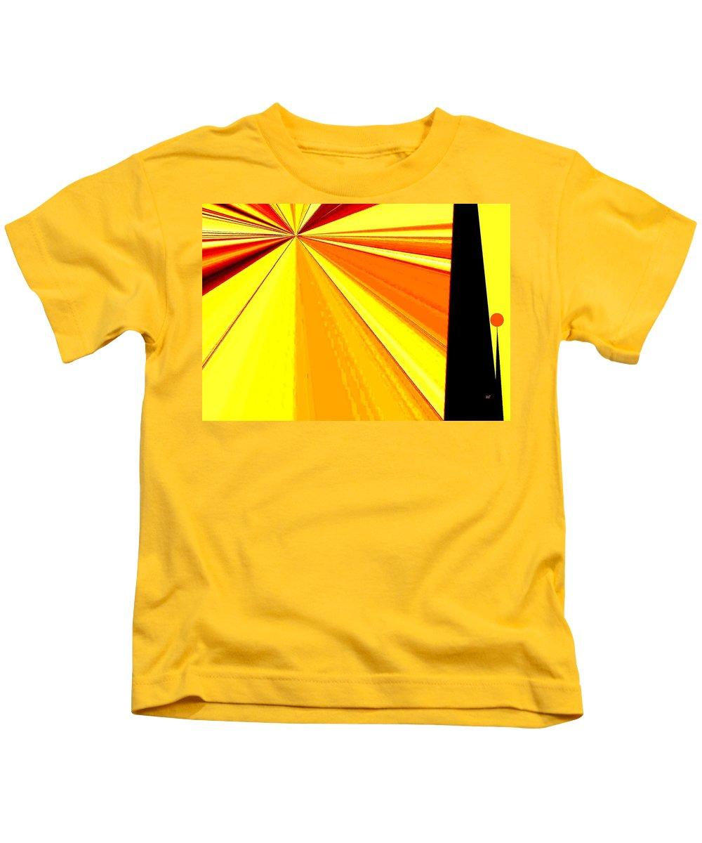 Balanced Kids T-Shirt featuring the digital art Balanced by Will Borden
