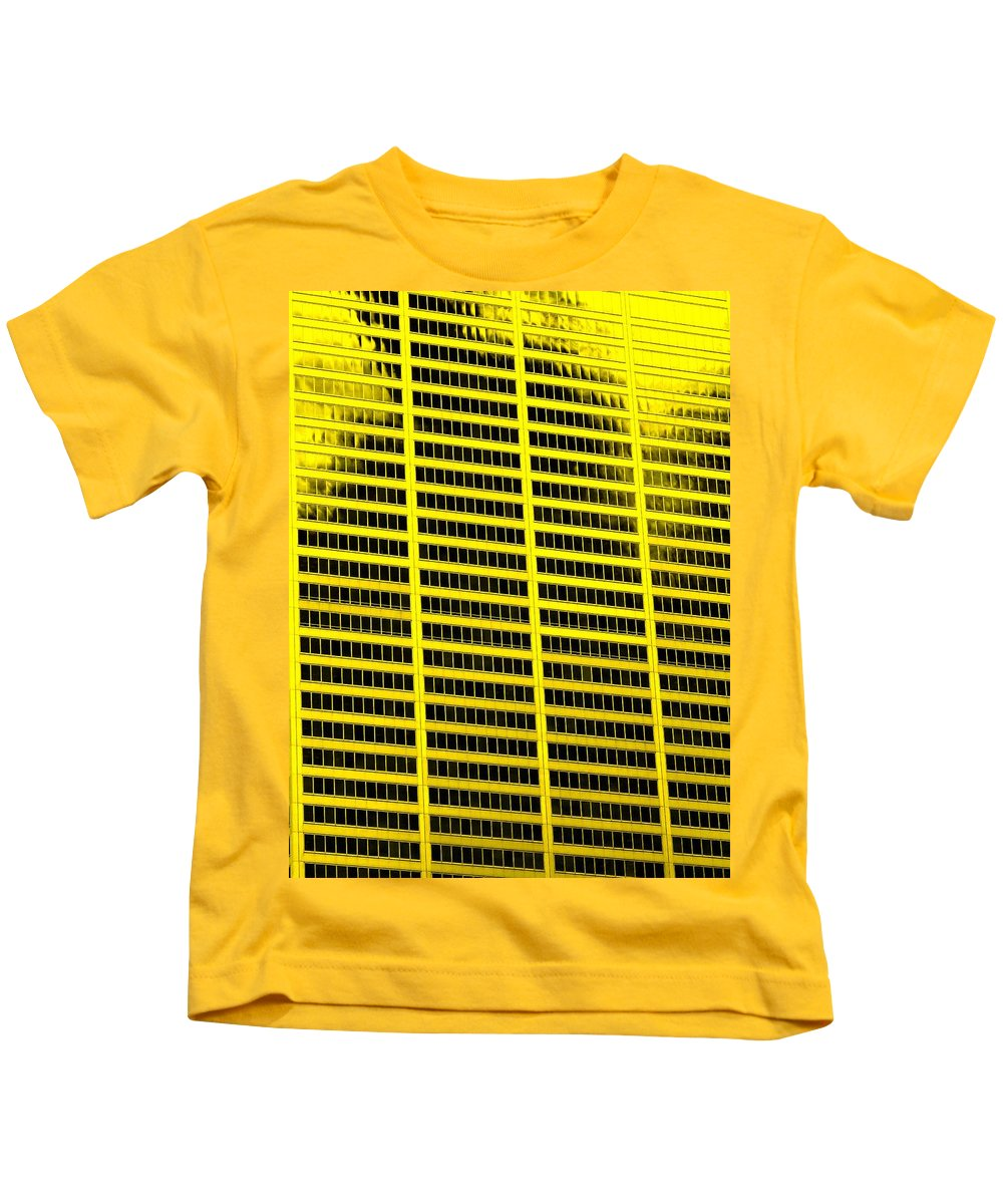 Office Kids T-Shirt featuring the photograph Commerce by Ian MacDonald