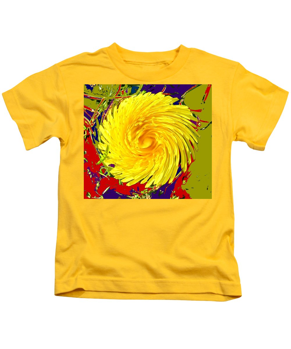 Flower Kids T-Shirt featuring the photograph Dandy Three by Ian MacDonald