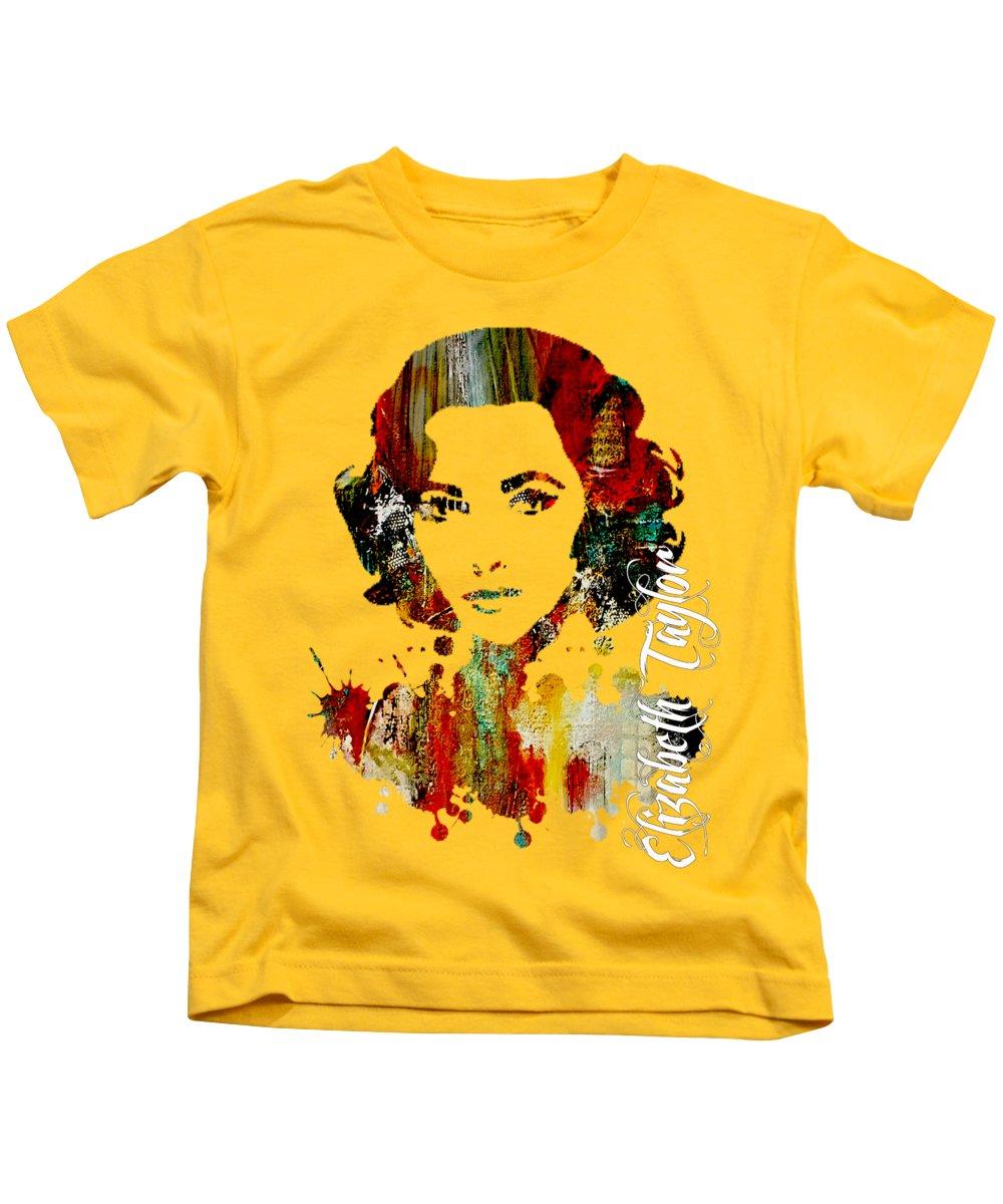 Elizabeth Taylor Kids T-Shirts