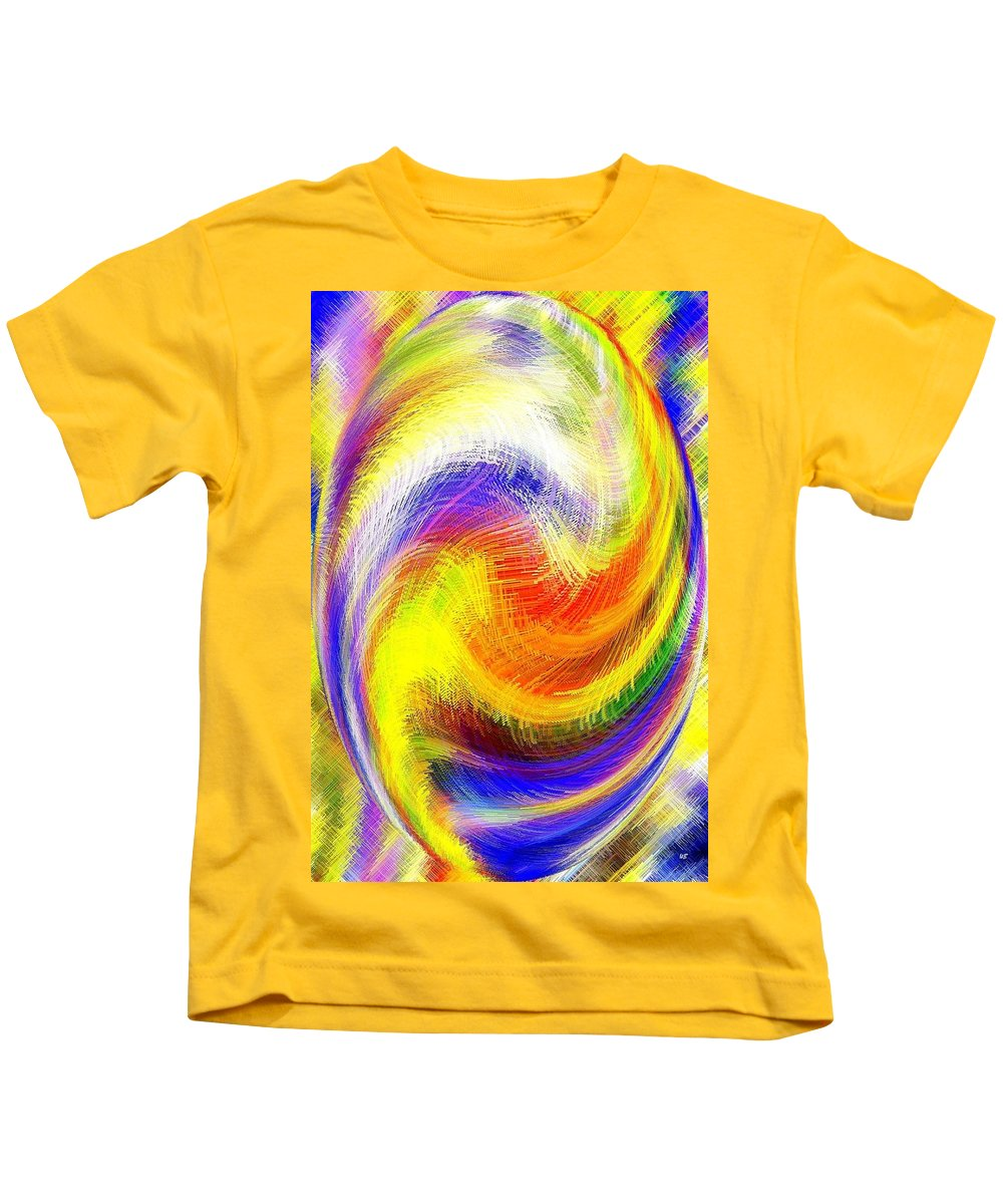 Micro Linear Kids T-Shirt featuring the digital art Micro Linear 13 by Will Borden
