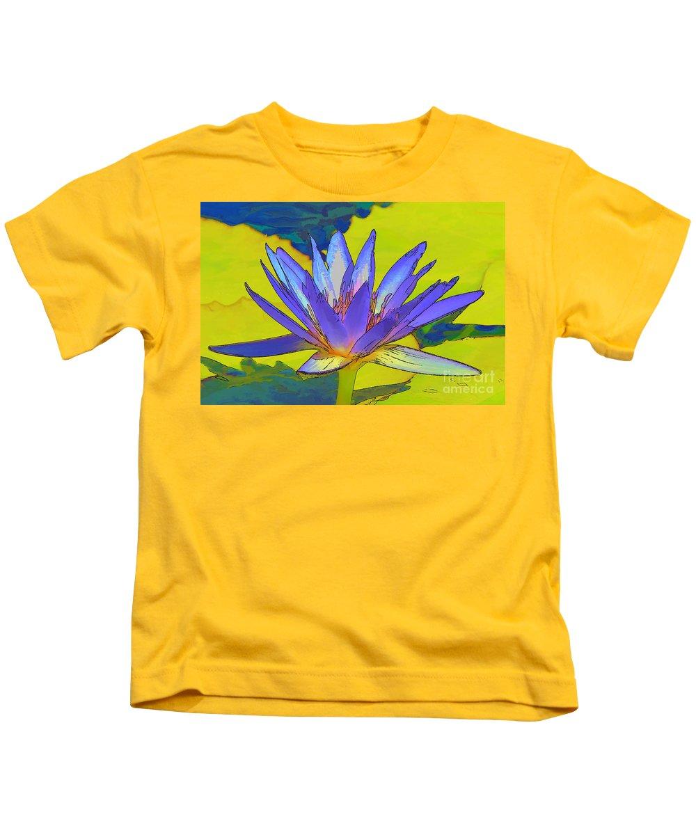 Flower Kids T-Shirt featuring the photograph Splendid Water Lily by Teresa Zieba