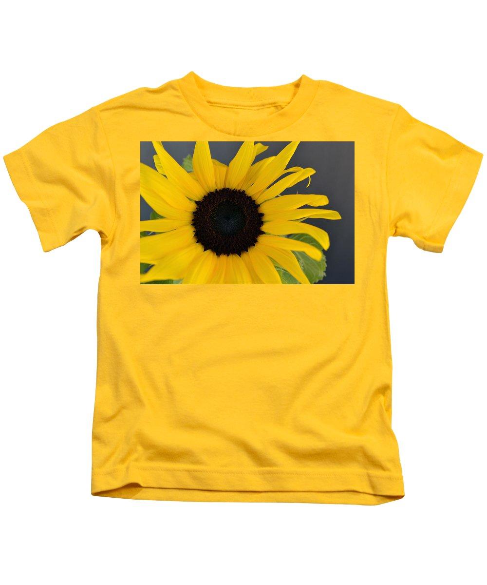 Sunflower Kids T-Shirt featuring the photograph Sunflower II by James Pinkerton