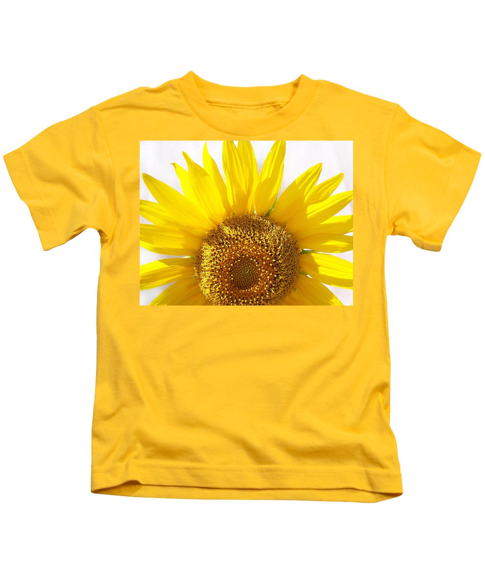Sunflower Kids T-Shirt featuring the photograph Sunshine by Donna Blackhall