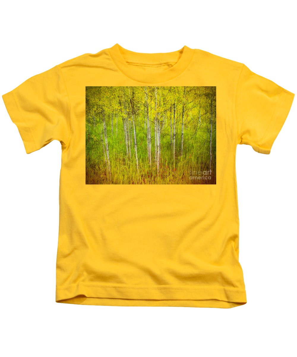 Forest Kids T-Shirt featuring the photograph The Small Forest by Tara Turner