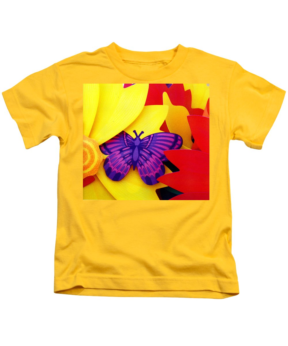Toy Kids T-Shirt featuring the photograph Unreal by Wayne Potrafka