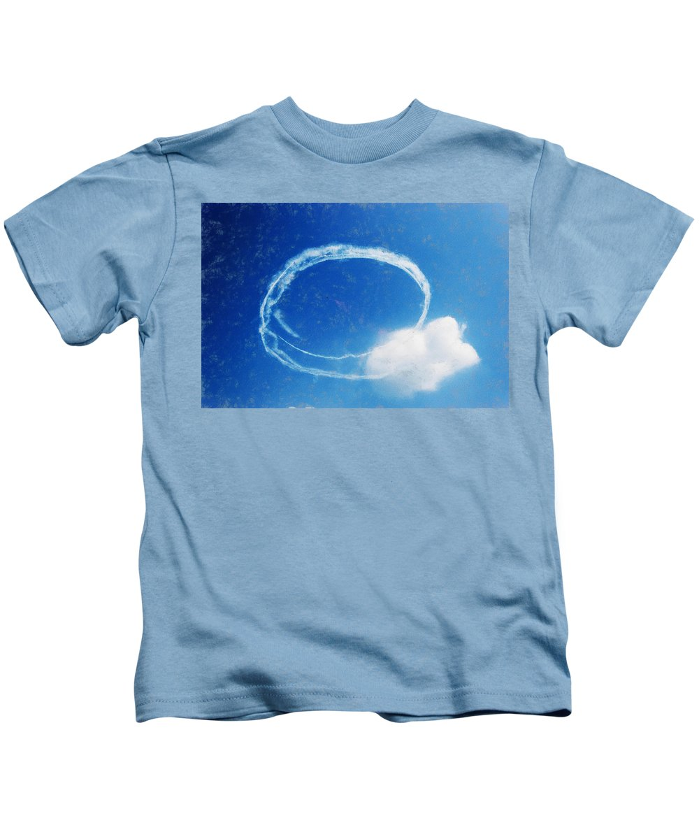 Chicago Kids T-Shirt featuring the digital art 0036 - Air Show - Acanthus by David Lange