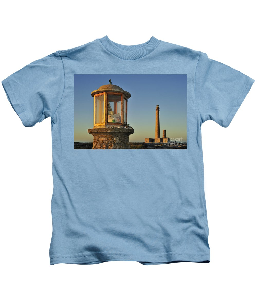 Gatteville Kids T-Shirt featuring the photograph 110714p203 by Arterra Picture Library