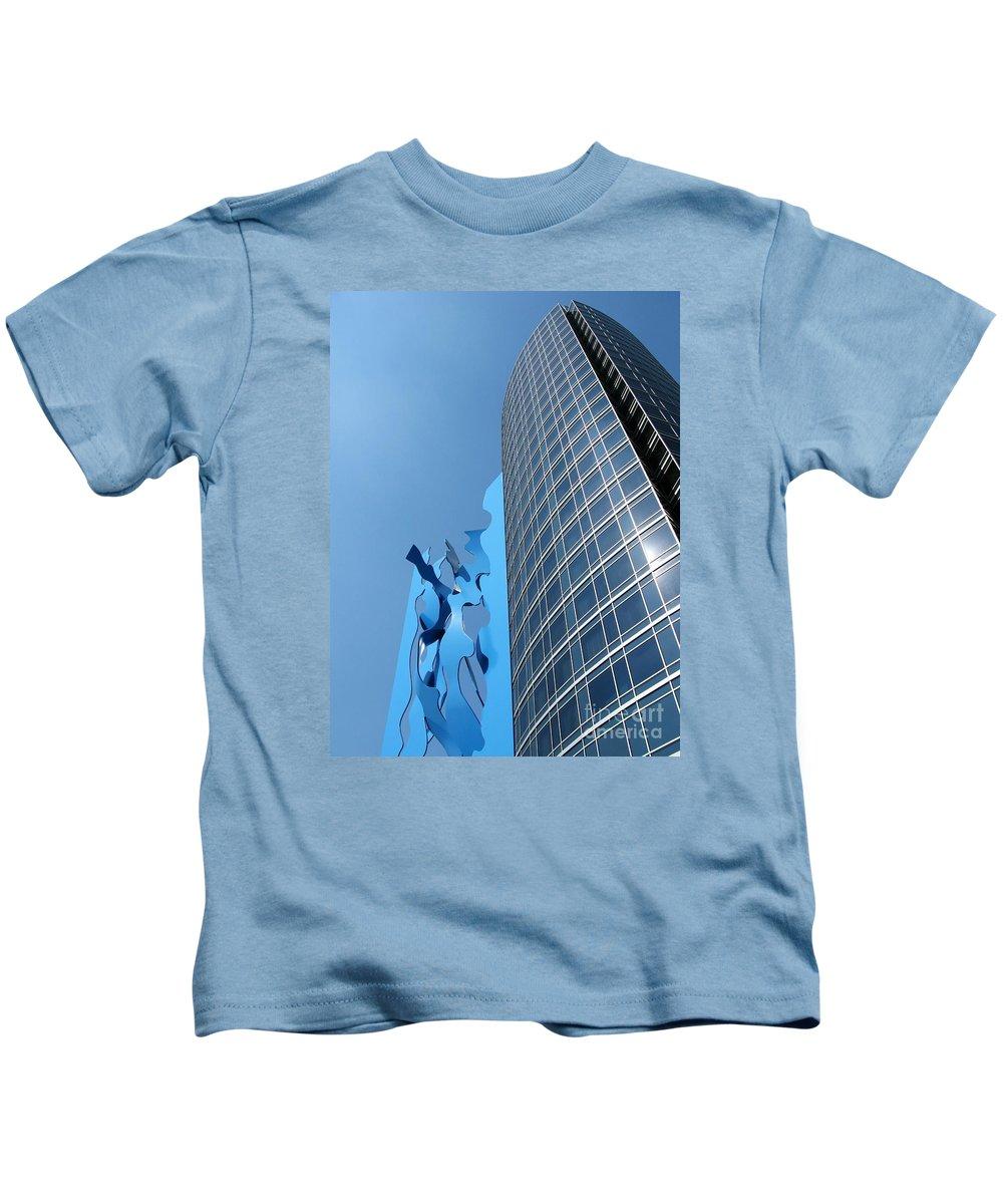 Art Kids T-Shirt featuring the photograph Blues by Ann Horn