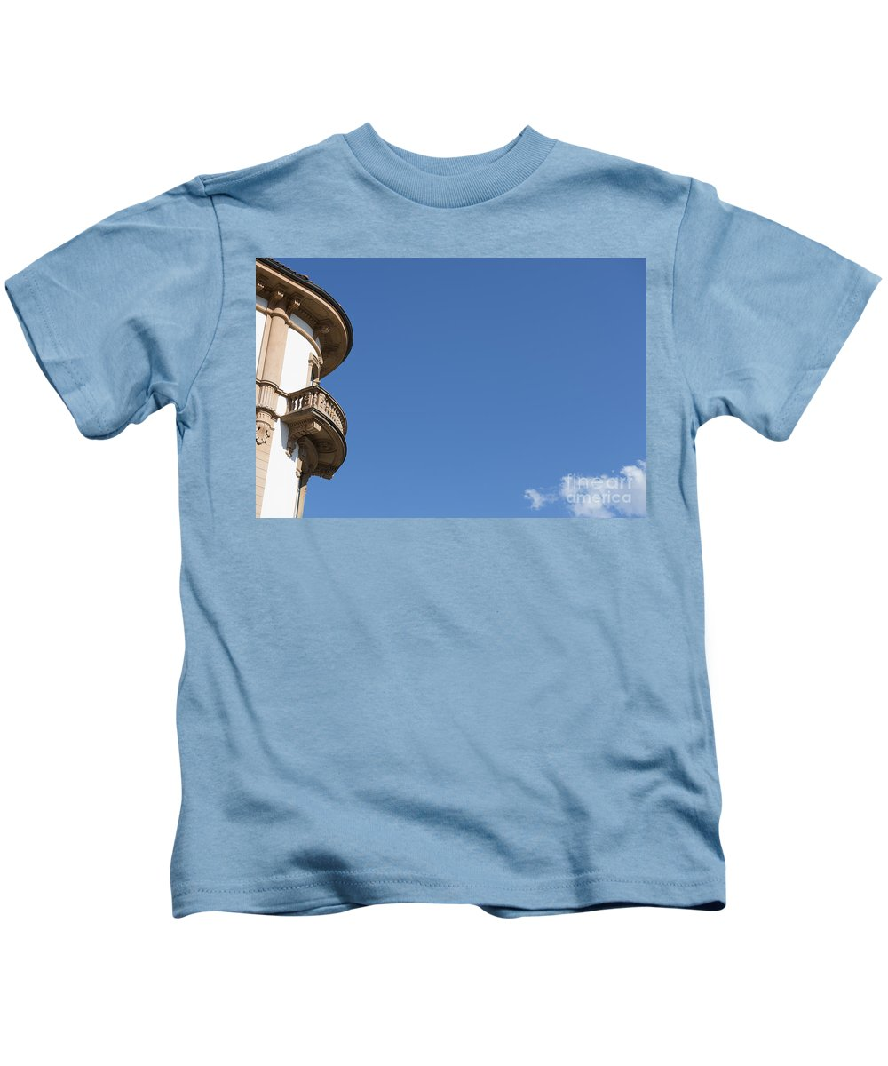 Old Kids T-Shirt featuring the photograph Building by Mats Silvan