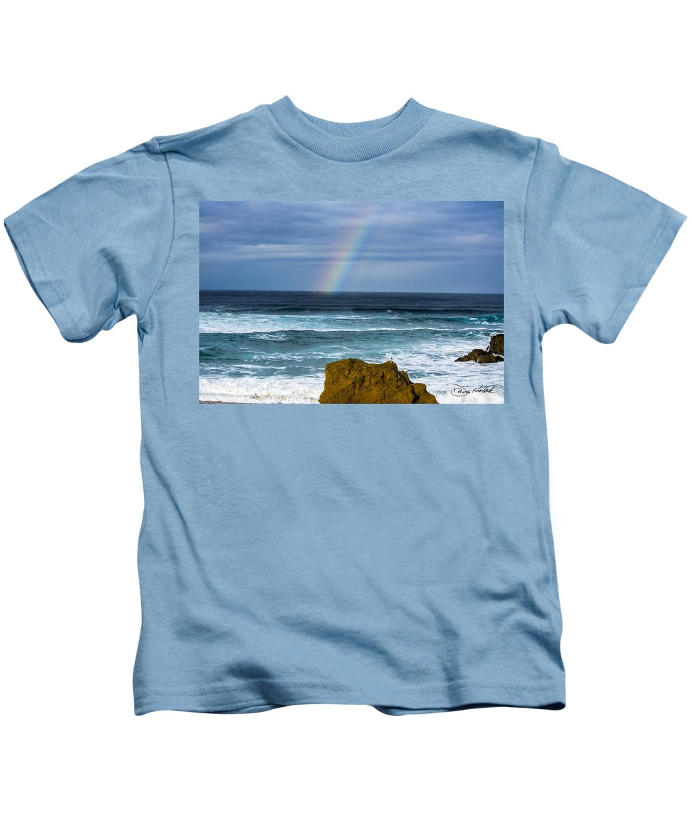 Coastline Kids T-Shirt featuring the photograph Fort Bragg Skies by Doug Holck