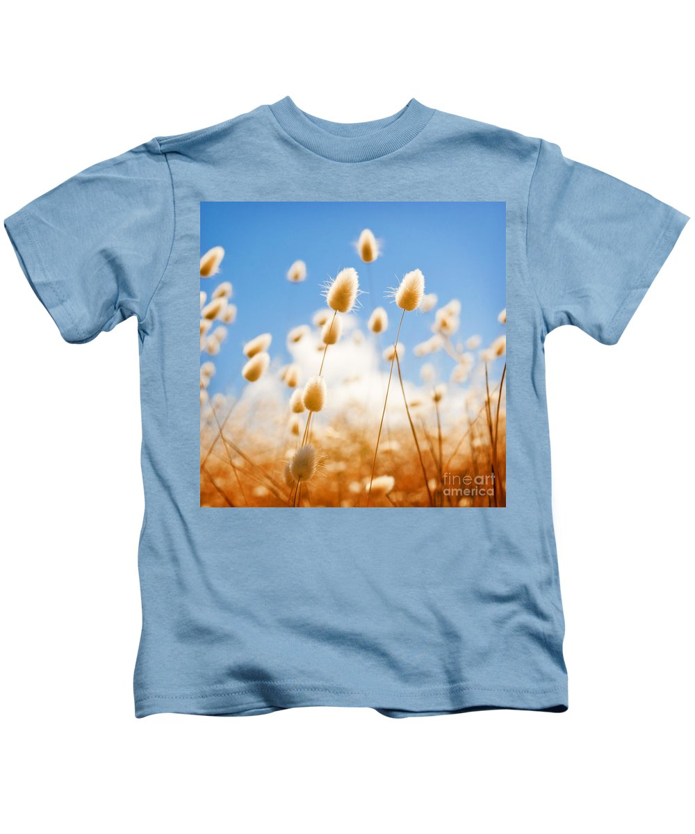 South Australia Kids T-Shirt featuring the photograph Golden Field by Tim Hester