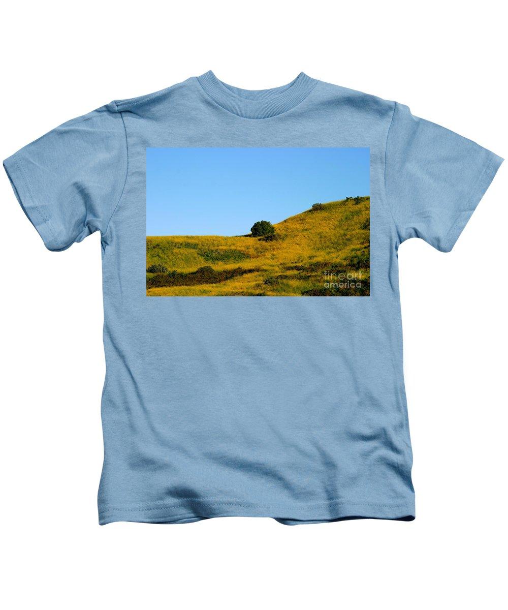 Summer Kids T-Shirt featuring the photograph Mustard Grass by Henrik Lehnerer