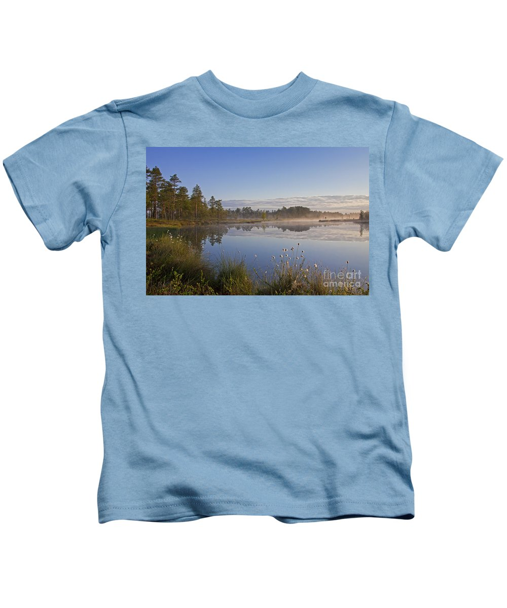 Moor Kids T-Shirt featuring the photograph 110307p101 by Arterra Picture Library