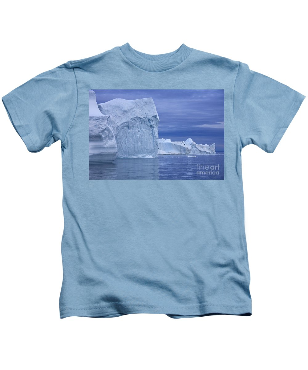 Iceberg Kids T-Shirt featuring the photograph 110506p054 by Arterra Picture Library