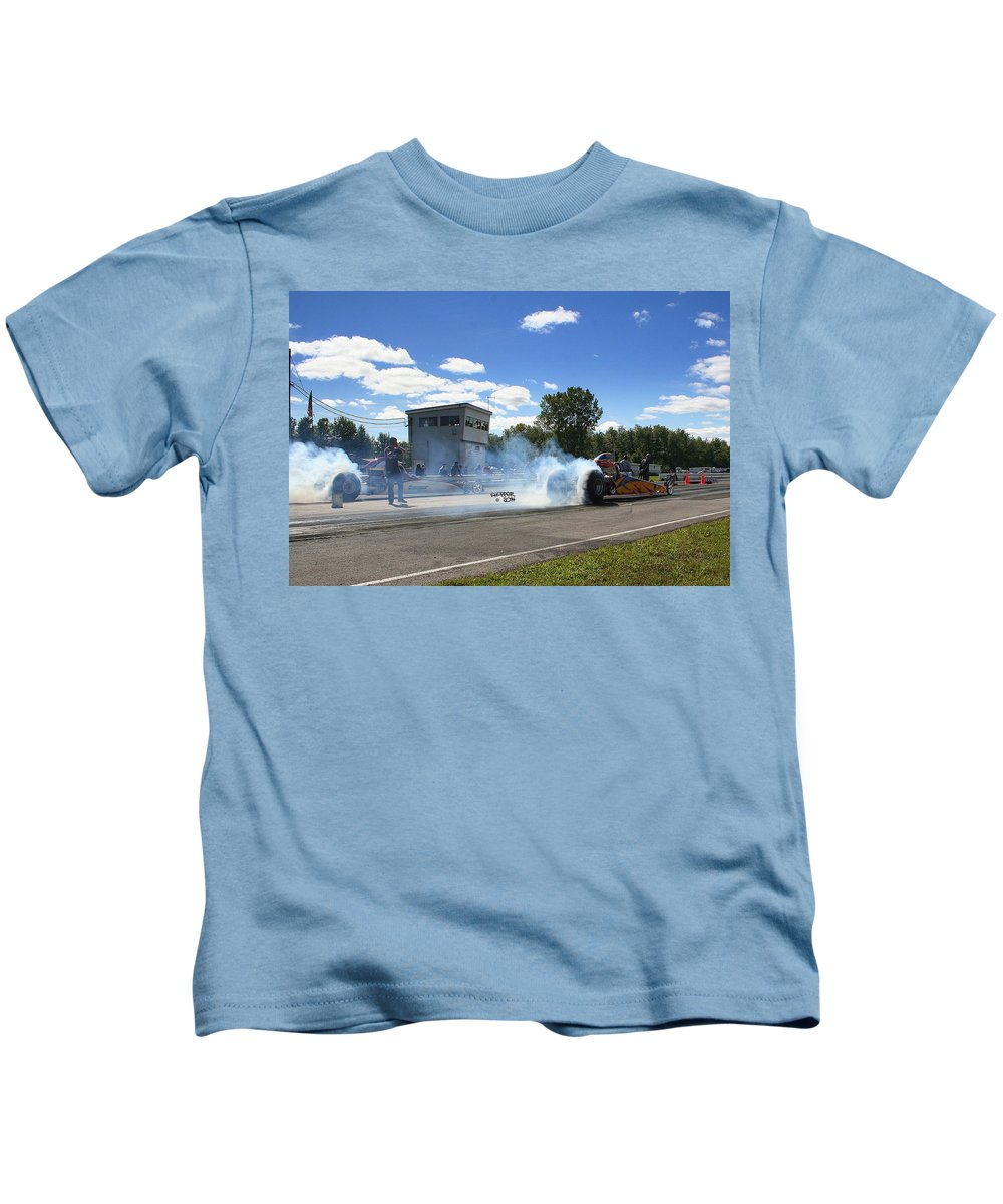 Esta Safety Park Kids T-Shirt featuring the photograph Esta Safety Park 09-14-14 by Vicki Hopper