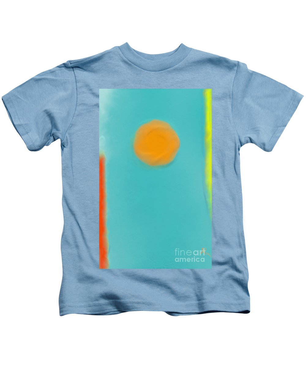 Artrage Kids T-Shirt featuring the painting Lily Pond by Anita Lewis