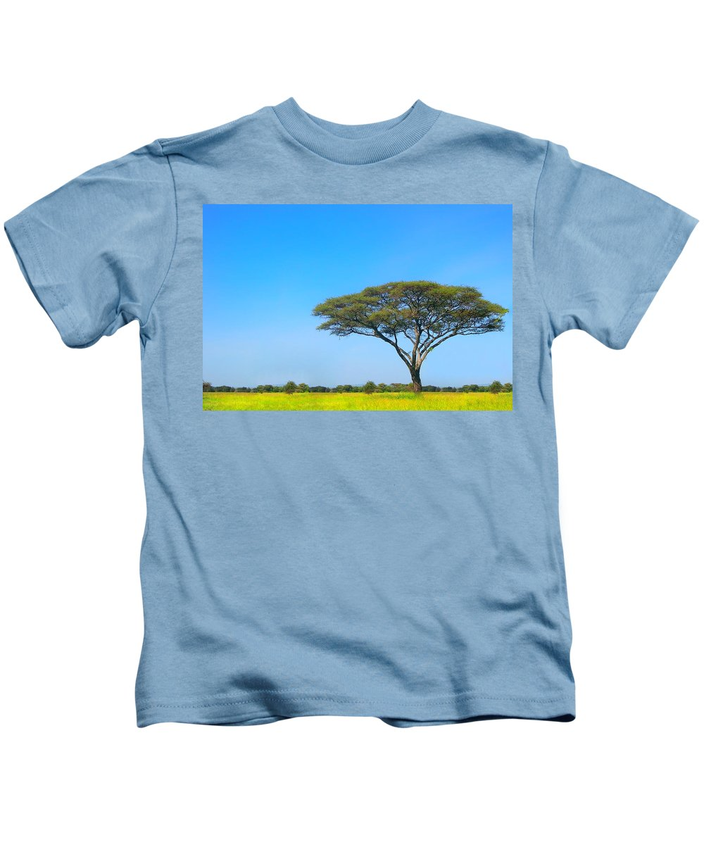 Africa Kids T-Shirt featuring the photograph Africa by Sebastian Musial