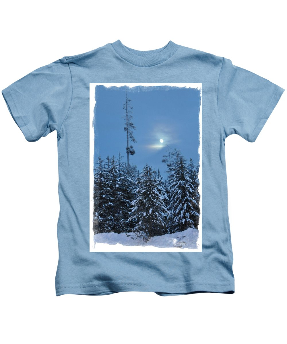 Island Park Kids T-Shirt featuring the photograph All Is Calm by Image Takers Photography LLC - Laura Morgan